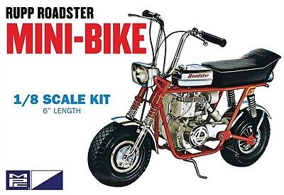 MPC 1/8 Rupp Roadster Mini Bike Red Plastic Model Kit MPC849