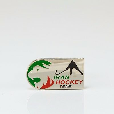 Ice Hockey Federation of Iran pin, badge, lapel, hockey