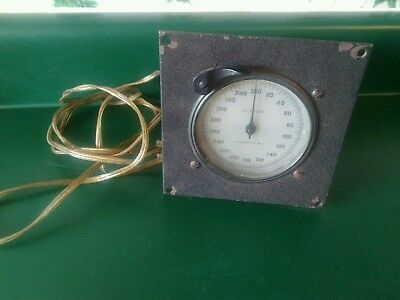 Vintage Standard Electric Time Co Milliseconds Timer (For Parts or Repair Only)