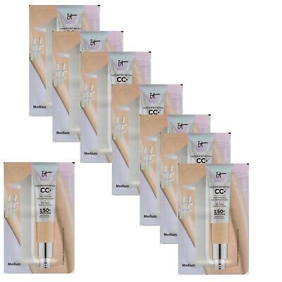 IT Cosmetics Your Skin But Better CC+ 7 x 2mL Sample Packets Medium Shade