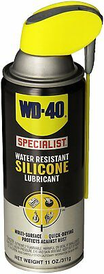 WD-40 300014 Specialist Water Resistant Silicone Lubricant Spray, 11 oz.