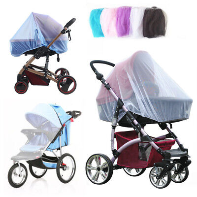 Universal Baby Buggy Stroller Pushchair Pram Mosquito Fly Insect Net Mesh Cover