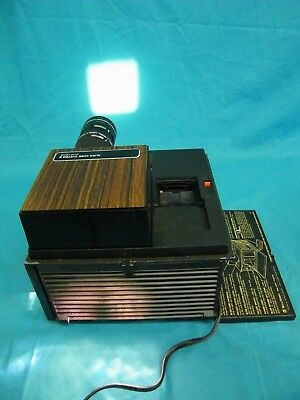 Vintage Bell & Howell Slide Cube Projector System II Auto Focus TESTED WORKS