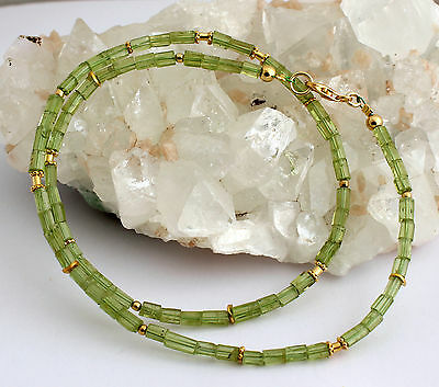 Aquamarine sapphire chrome diopside necklace precious stone peridot necklace precious stone olivine faceted new pretty green top aloadofball Image collections