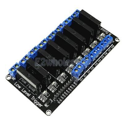 12V 8 CH Low Level trigger Solid State Relay Module with Fuse 240V 2A Output