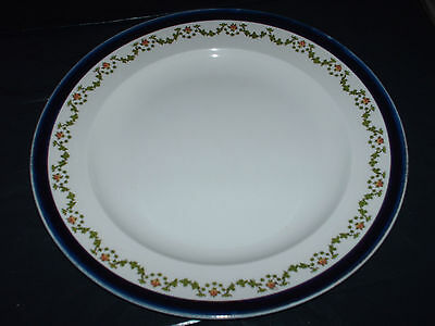 antique/vintage booths silicon china plate 24.5 cm