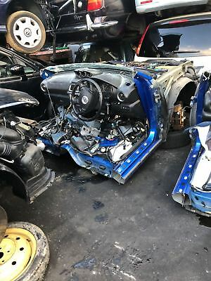 Subaru Impreza Wrx Sti Gdb Blue 00' X1 Unit Half Cut And Parts Japan Container