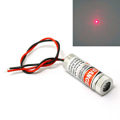 10pcs 650nm 5mW Red Laser Dot Diode Module with Cap & Driver in
