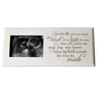 SCAN Sentiment Picture Photo Frame Boy Girl Pregnancy Baby Shower GIFT