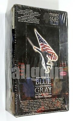 THE BLUE AND THE GREY Collectible Cards Civil War Art Mort Künstler SEALED BOX