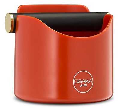 Osaka, Shock-Absorbent Espresso Knock Box - Durable 4.7 Inch Barista Style