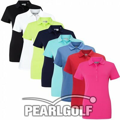 Callaway Golf Micro Hex Damen Short Sleeve Poloshirt - Modell 2018 - Damen Polo
