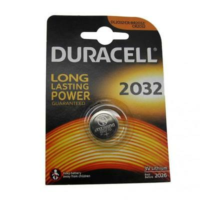Duracell CR2032 3V Lithium Button Battery Coin Cell DL/CR/BR 2032 Expiry 2026