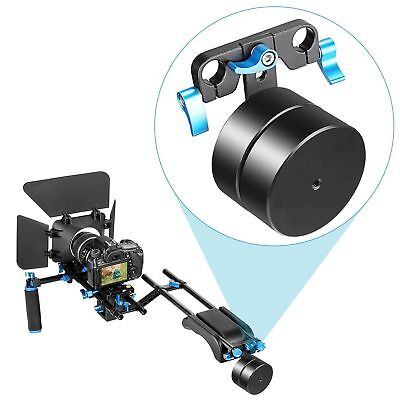 Neewer Counter Weight 2.1kg for 15mm Rod Rail System Shoulder Rig Stabilizer
