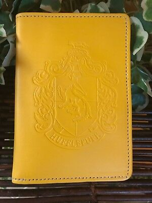Harry Potter Yellow Wallet (Greyhound Adoption)