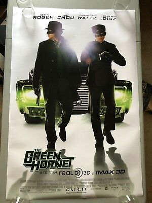 The Green Hornet - Original Double Sided 27x40 Theater Movie Poster Seth Rogen