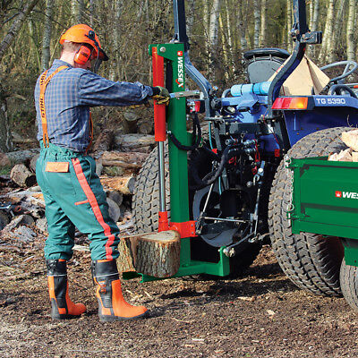 WESSEX Tractor Mounted Hydraulic 10 Ton Log Splitter Model LS100 - FREE DELIVERY