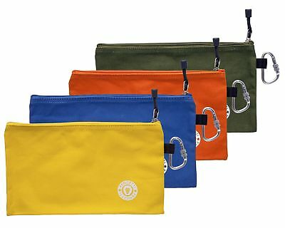 Pencetti 8-Piece Small Tool Bag Value Set - Includes 4 Heavy Duty Canvas Tool
