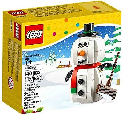 LEGO Holiday Seasonal 40093 Snowman Frosty Christmas 2014 RETIRED