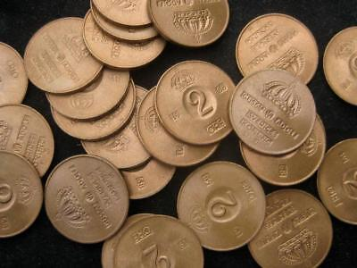 sweden 2 Ore 1968 BU lot of 25 coin