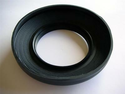 Wide Angle 49Mm Rubber Lens Hood Collapsible For Slr Lens