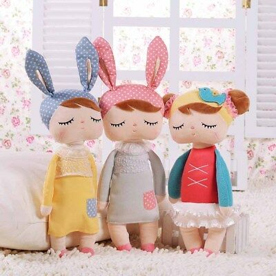 Plush Kids Girls Toys Doll Cute Rabbit Cartoon Birthday Gift