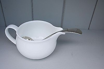 Sauce  Ladle Victorian  Old English Pattern Silver Plated Vintage