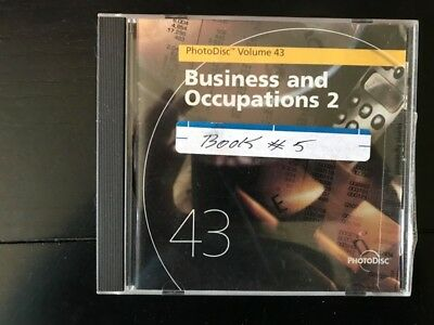 PhotoDisc Stock Images Photography CD—Business and Occupations 2 -Volume 43