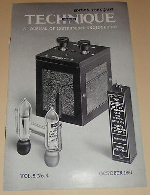 muirhead technique electronic tome 5 n°4 1951