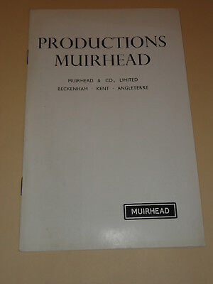 muirhead electronic productions 1955