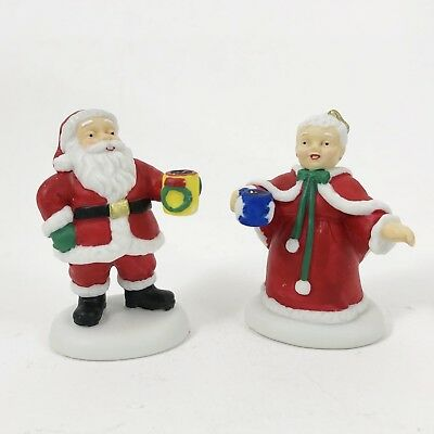 North Pole Village from Department 56 - Merry Christmas! - Mr & Mrs Santa Claus