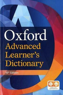OXFORD ADVANCED LEARNER'S DICTIONARY +DVD & Online Access Paperback 9th Ed @NEW@