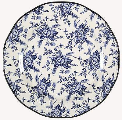 Wood & Sons COLONIAL ROSE BLUE Dinner Plate 3483920