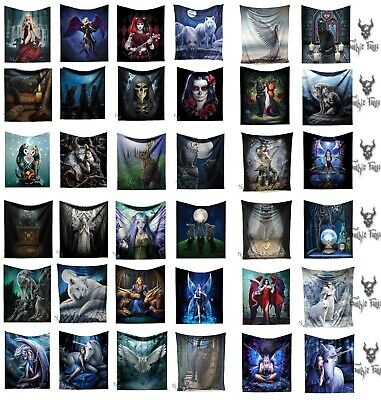 Nemesis Now Fleece Throw 160cm Blanket Anne Stokes James Ryman Lisa Parker throw