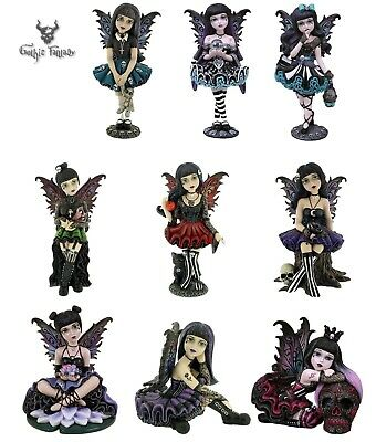 Little Shadows Gothic Fairy Figures Nemesis Now Goth Girl Figurine Cos Play
