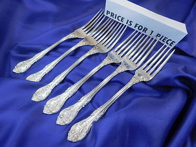 1 GORHAM KING EDWARD STERLING SILVER DINNER FORK GOOD CONDITION