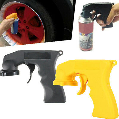 Spray Adaptor Aerosol Paint Spray Gun Handle Full Grip Trigger Car Maintenance