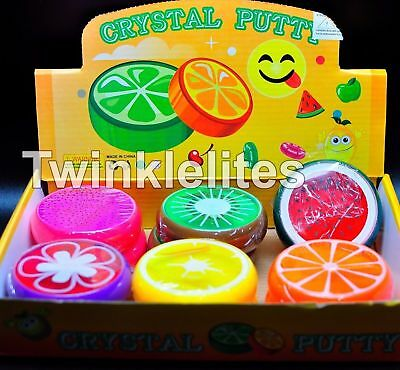Fruit Putty Creative Crystal Clay Jelly Slime Plasticine Mud Toy Jumbo Size