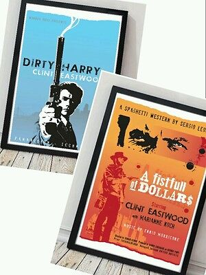 DIRTY HARRY MOVIE CLINT EASTWOOD CLASIC GIANT ART PRINT PANEL POSTER NOR0171