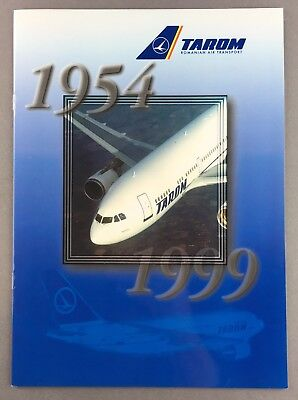 Tarom Romanian Air Transport Brochure 1954-1999