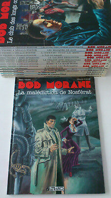 ATTANASIO / FORTON / VERNES ** BOB MORANE. COLLECTION LEFRANCQ. TOMES 1 à 15  **