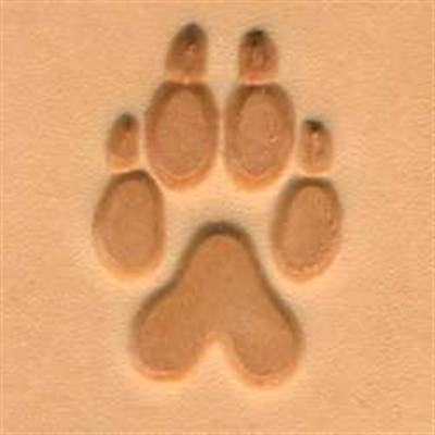 Wolf Track 3-D Stamp 88286-00 by Tandy Leather Craftool