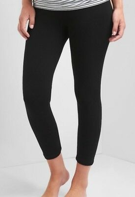 Gap Maternity Pure Body Full Panel Capri Leggings Size S- Black- NWT*