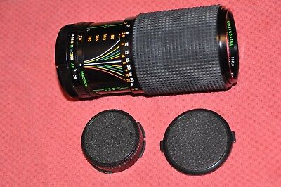 Sears 70-210mm f4 Macro Zoom - Canon FD Mount w/front & rear caps