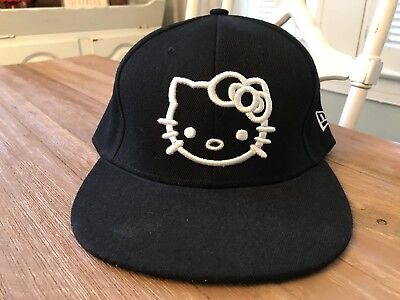 67d76de8d1f RARE NEW ERA Fitted Hello Kitty New York 59fifty Hat Cap 7 1 4 ...