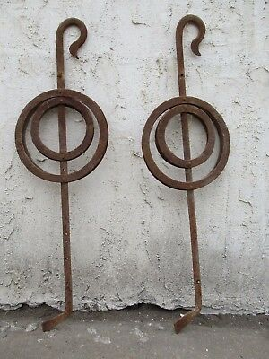 Antique Victorian Iron Gate Window Garden Fence Architectural Salvage Door #099