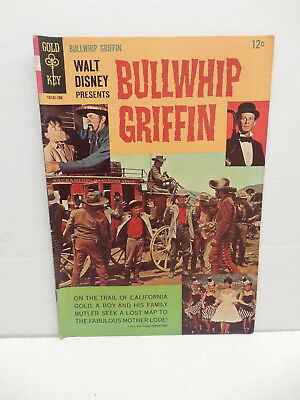 Bullwhip Griffin Gold Key Silver Age Western Movie Comic Book Spiegle Art
