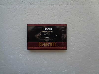 Vintage Audio Cassette THAT's CD/MH 100 * Rare From 1990 *