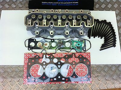 LAND ROVER 300 tdi CYLINDER HEAD BUILT UP NEW WITH GASKETS-LDF500180COM