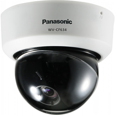Panasonic WV-CF634E Indoor Varifocal Dome Analogue Camera White CCTV Camera